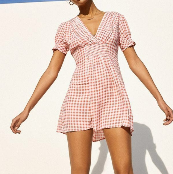 Urban Outfitters Gingham Mini Dress